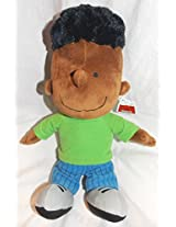 Peanuts Plush Stuffed 13 Inch Franklin Doll
