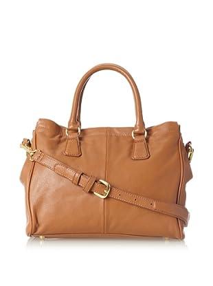 Zenith Women's Convertible Tote Bag, Cognac