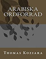 Arabiska Ordforrad (Swedish Edition)