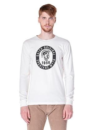 Datch Camiseta Manga Larga (Marfil)