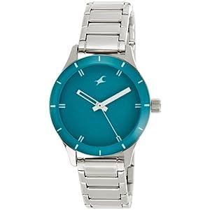 Fastrack Monochrome Analog Green Dial Women's Watch - 6078SM01