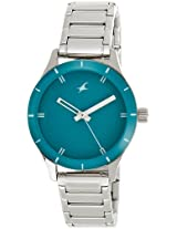 Fastrack Monochrome Analog Green Dial Women's Watch - 6078SM01