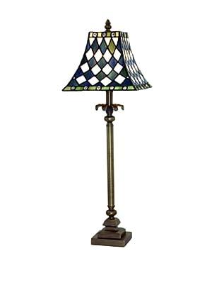 Legacy Lighting Kings Court 1-Light Buffet Lamp, Vestige Brass