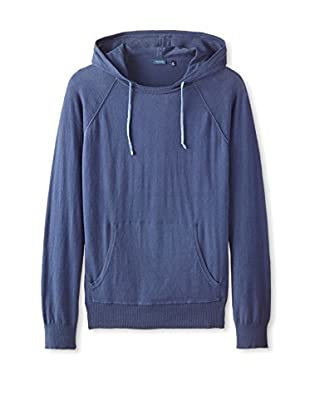 Thirty Five Kent Men's Solid Brushed Cotton Hoodie