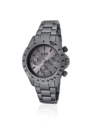 a_line Women's 20050-GR Amore Chronograph Grey Aluminum Watch