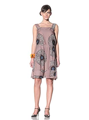 MARNI Women's Sleeveless Printed Dress (Powder)