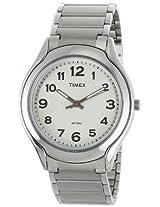 Timex Classics Analog White Dial Men's Watch - TI000V70000