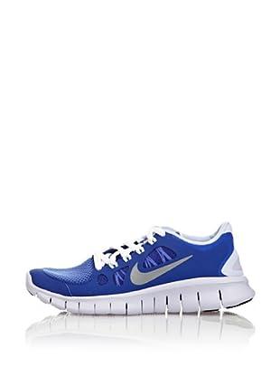 Nike Zapatillas Nike Free Run 4 Gg (Azul / Blanco)
