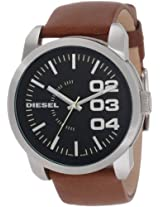 Diesel Double Dow Analog Black Dial Men's Watch - DZ1513