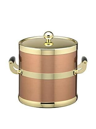 Kraftware Copper & Brass Ice Bucket