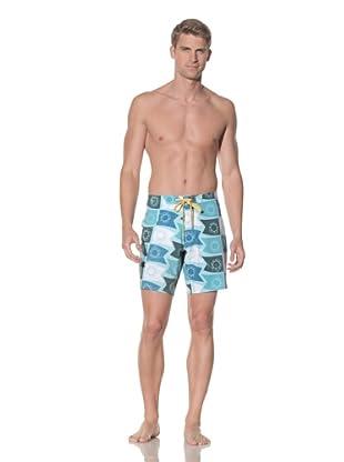 Rhythm Men's Flag It Swim Short