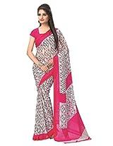 vaamsi printed saree (RC3119_Pink_6.3 m length)