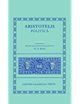 Aristotle Politica (Oxford Classical Texts)