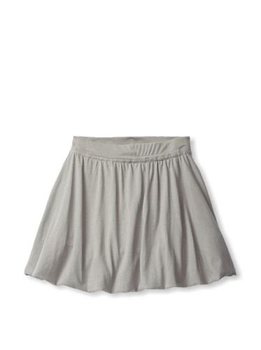 Soft Clothing Kid's Ana Bubble Skirt (London Grey)
