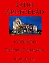 Latin Ordforrad (Swedish Edition)