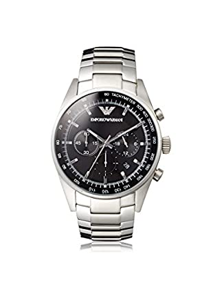 Emporio Armani Men's AR5980 Silver/Black Stainless Steel Watch