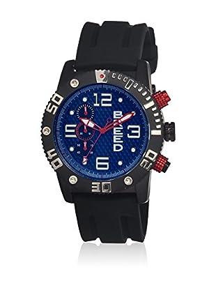 Breed Reloj con movimiento cuarzo japonés Brd3906 Negro 45  mm
