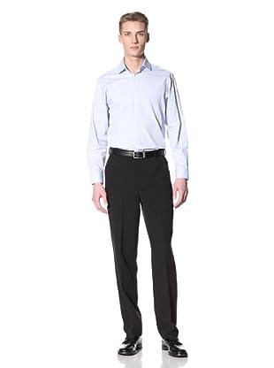 Corbin Men's Dreamweave Flat-Front Trousers (Black)