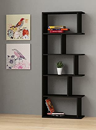 Decortie by Homemania Librería Tapi (Negro)