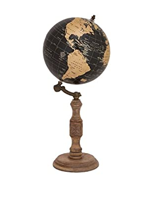 Wooden Globe on Stand