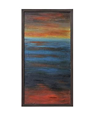 Surya Gradient Sunset Wall Décor, Multi, 60