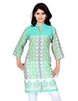 Lifestyle Retail Women Straight Kurta (LSM-057-7335_Beige_Medium)