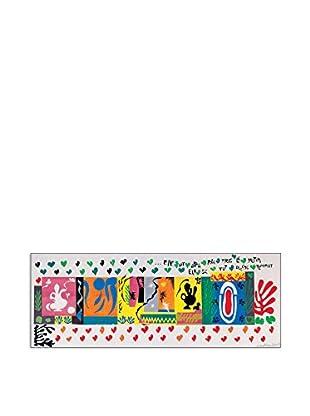 ArtopWeb Panel de Madera Matisse Le Mille E Una Notte 1950 - 36x97 cm