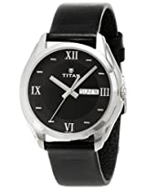 Titan Karishma Analog Black Dial Men's Watch - NE1578SL04