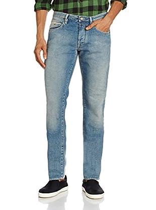 GAS Mitch, Jeans Uomo, Blu, 28