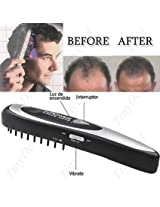 Power Grow Comb Kit Regrow Hair Loss Therapy Cure Promotes the Appearance of New Hair with Manicure