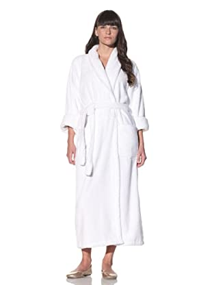 Chortex Plush Bathrobe (White)