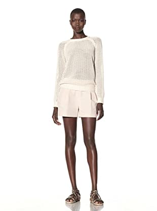 Acrobat Women's Fishnet Sweater (Cream)