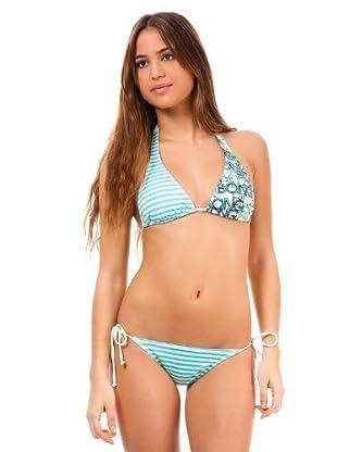 Billabong Bikini Lona (azul cielo / blanco)
