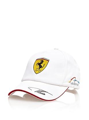 Ferrari Gorra Fernando Alonso (Blanco / Azul)
