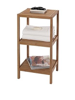 Creative Bath 3-Shelf Bamboo Tower