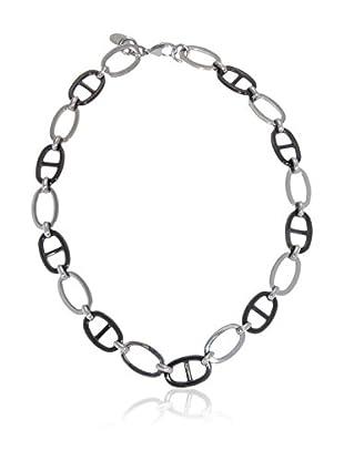 U.S. Polo Assn Halskette Shabas USPJ206NK silber/schwarz