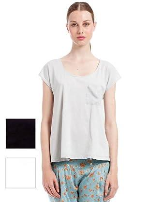 Woman Secret Camisetas 3 pack (blanco / negro / gris)