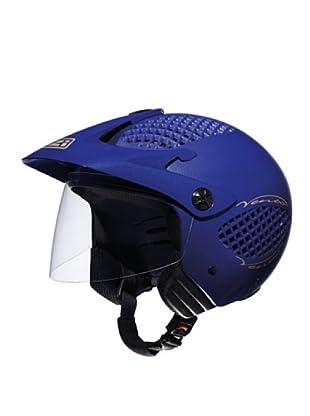 NZI Casco Abierto Pantalla Vento Ma (Azul)