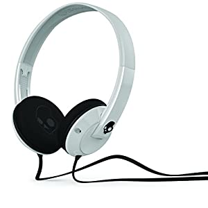 Skullcandy S5URDZ-074 Uprock On-Ear Headphone (White/Black )