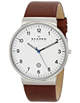 Skagen Analog White Dial Men's Watch - SKW6082