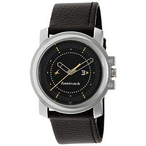 Fastrack NE3039SL02 Black Dial Men's Watch