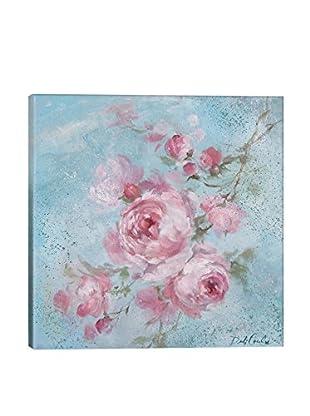 Debi Coules Winter Rose I Canvas Print