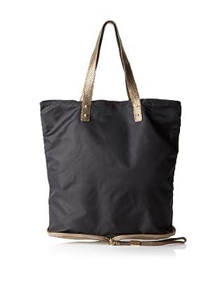 Foley + Corinna Women's Expandable Shopper Bag (Black/Copperhead Combo)