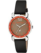 Fastrack Analog Brown Dial Women's Watch - 6111SL03