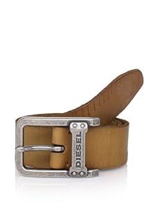 Diesel Men's Loon-Service Belt (Tan)