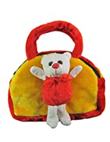 Tickles TEDDY SHOULDER BAG Soft Toy Plush Kids Birthday Gift