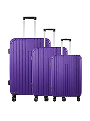 ZIFEL Set 3 Trolley Rigido Barbade