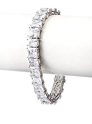 CZ by Kenneth Jay Lane Emerald CZ Tennis Bracelet