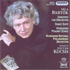 輸入盤Hybrid SACD ゾルターン・コチシュ指揮/ハンガリー国立po バルトーク:管弦楽のための協奏曲、舞踏組曲ほかのAmazonの商品頁を開く