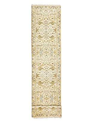 eCarpet Gallery One-of-a-Kind Hand-Knotted Royal Ushak Rug, Cream, 2' 8